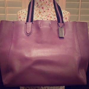 Coach Derby Tote in purple! EUC.  Gorgeous!